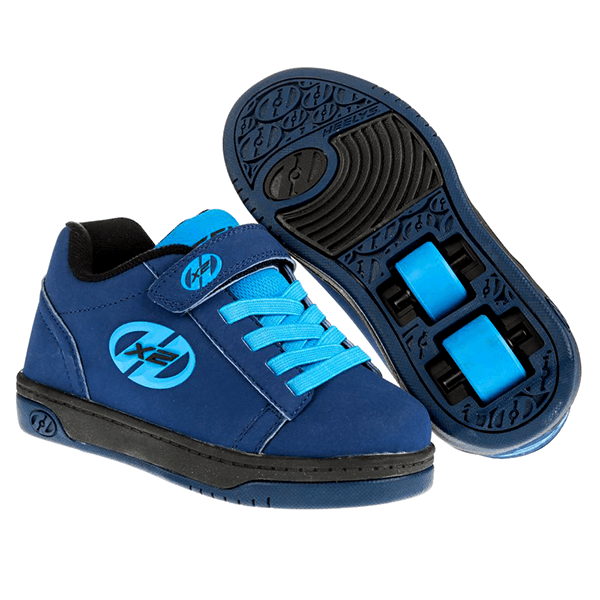 Heelys Dual Up Navy New Blue Two Wheel Heelys - Main View
