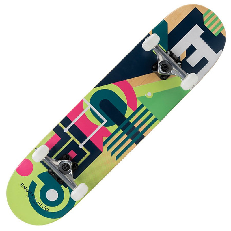 Enuff ALSO Green Skateboard - Main View