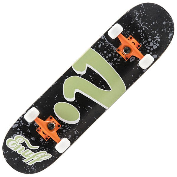 ENUFF BLACK LOGO SKATEBOARD - MAIN VIEW