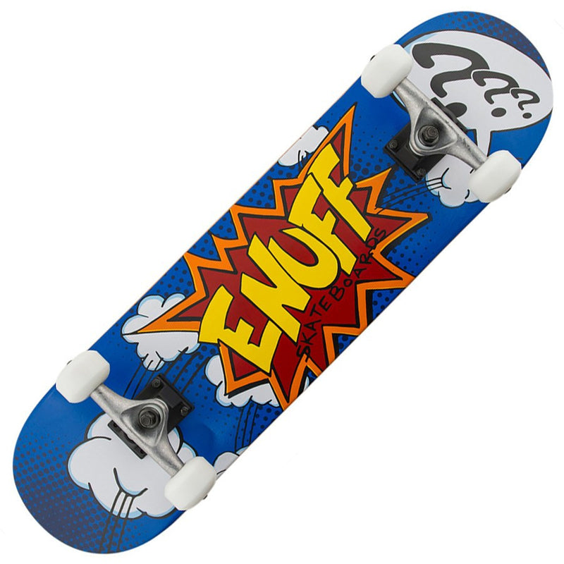Enuff Pow Blue Skateboard Main View