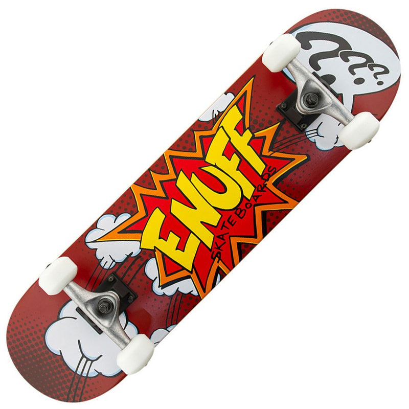 Enuff Pow Red Skateboard - Main View