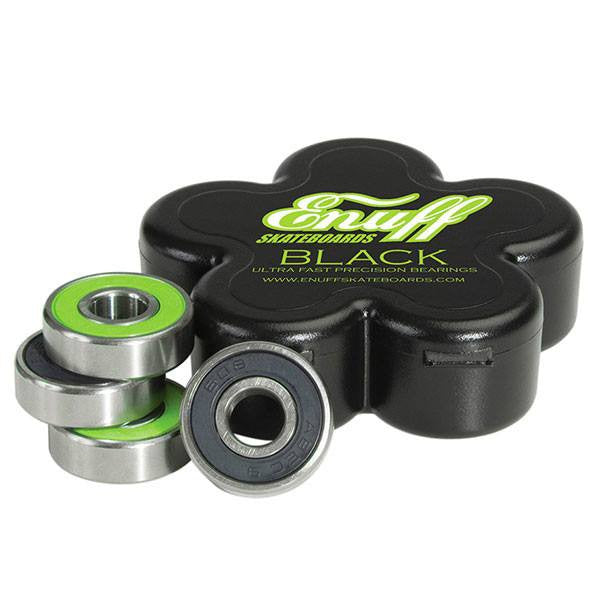 Enuff Black ABEC 9 Precision Bearings [Set of 8 Bearings] - Main View