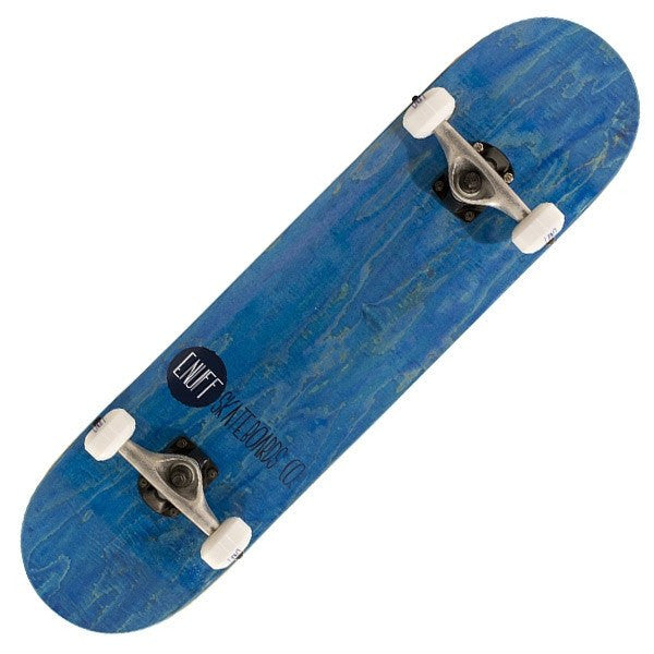 Enuff Logo Stain Blue Complete Skateboard - Main View