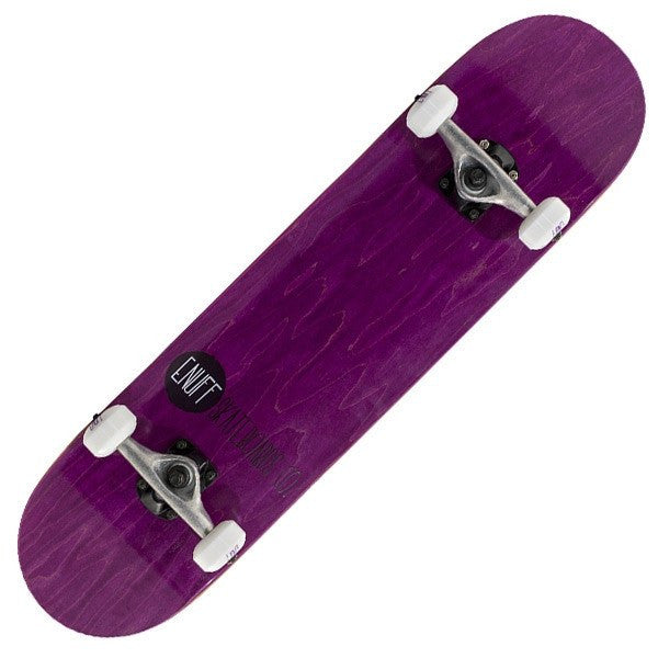 Enuff Logo Stain Purple Complete Skateboard - Main View