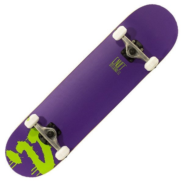 Enuff Logo Purple Mini Complete Skateboard - Main View