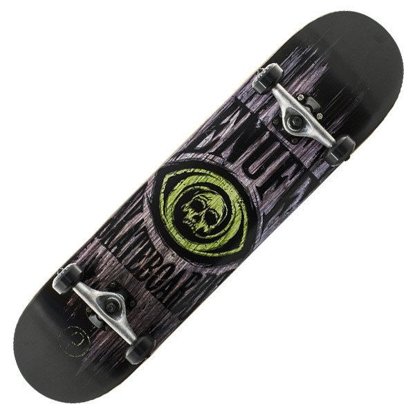 Enuff Skull Green Complete Skateboard - Main View