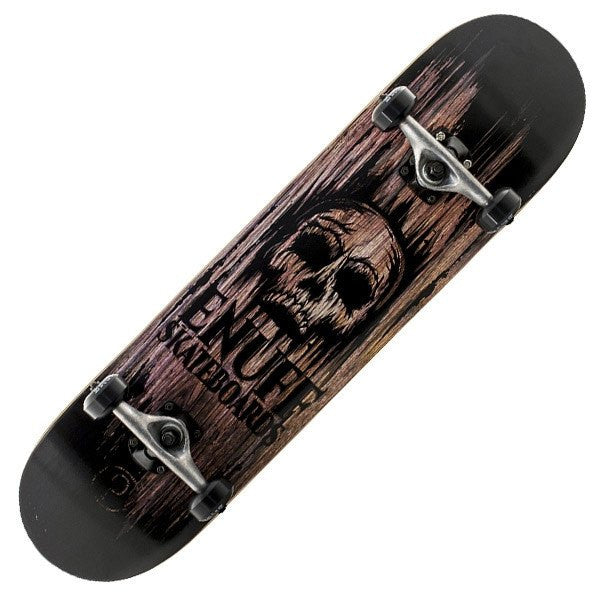 Enuff Skull Natural Complete Skateboard - Main View