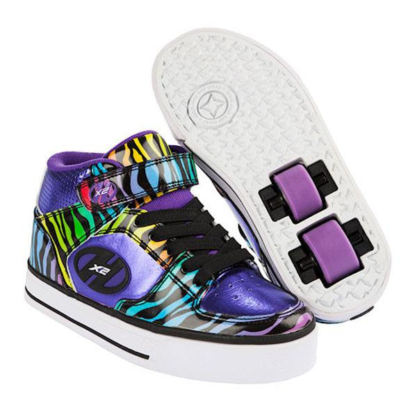 Heelys X2 Cruz Purple/Black/Multi Two Wheel Heelys - Main View