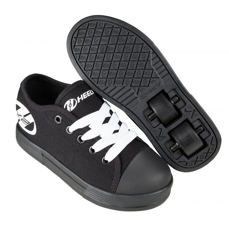 Black Two Wheel Heelys - Main View
