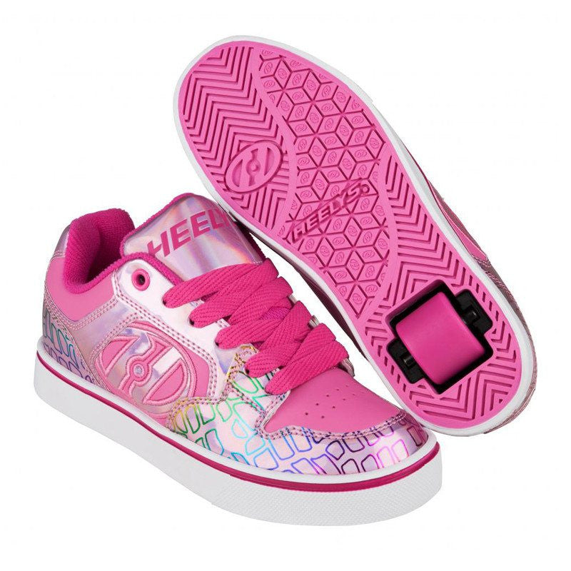 Pink Girls One Wheel Heelys - Main View