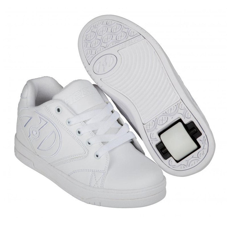 White One Wheel Heelys - Main View