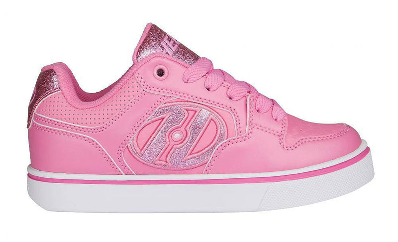 Heelys Motion Plus Light Pink roller shoes - side view