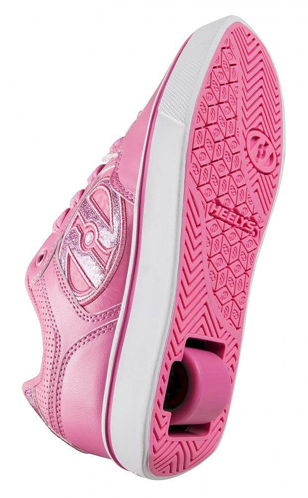 Heelys Motion Plus Light Pink roller shoes - underside