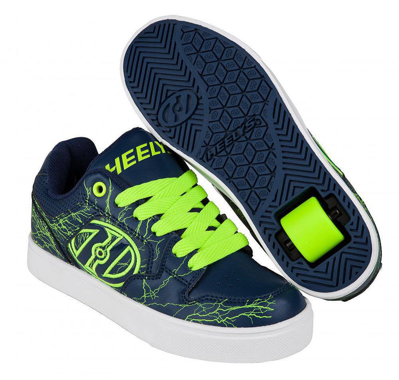 Heelys Motion Plus Navy Yellow Electricity - main image