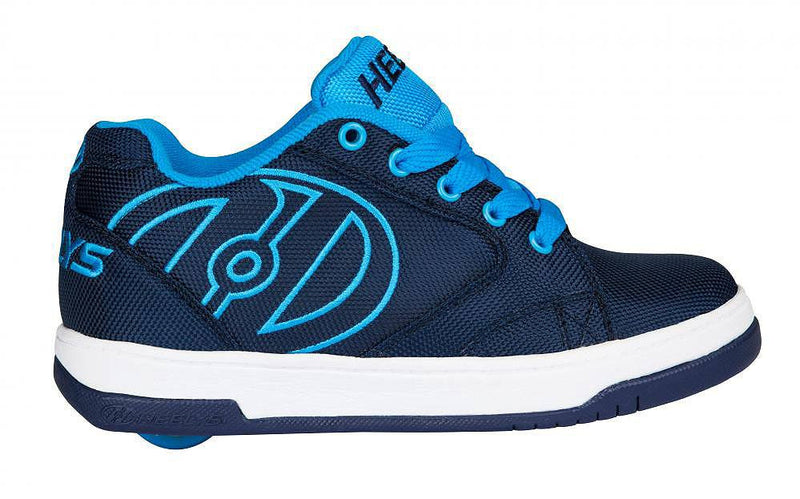 Heelys Propel 2.0 navy/blue/ballistic roller shoes - side view