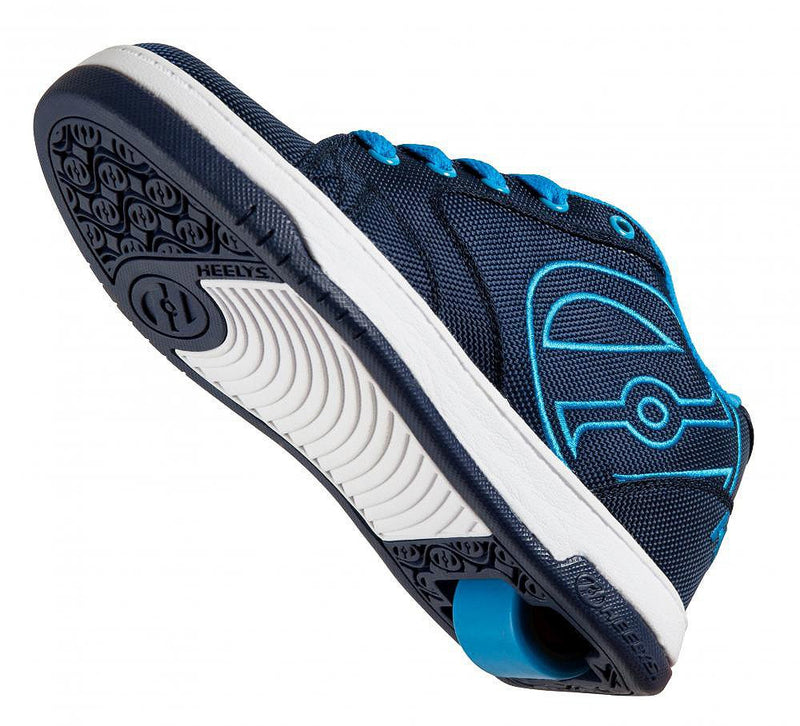 Heelys Propel 2.0 navy/blue/ballistic roller shoes - underside