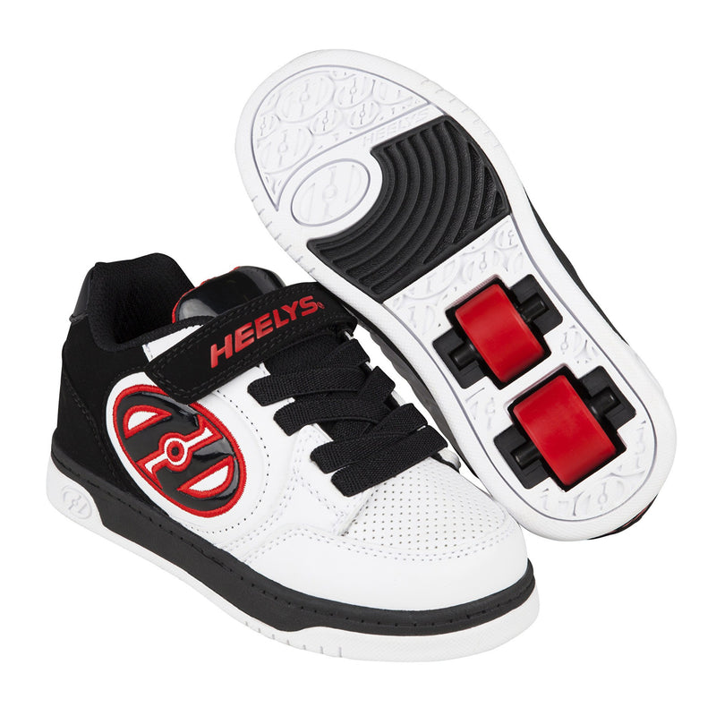 Heelys X2 Plus White/Black/Red - main view