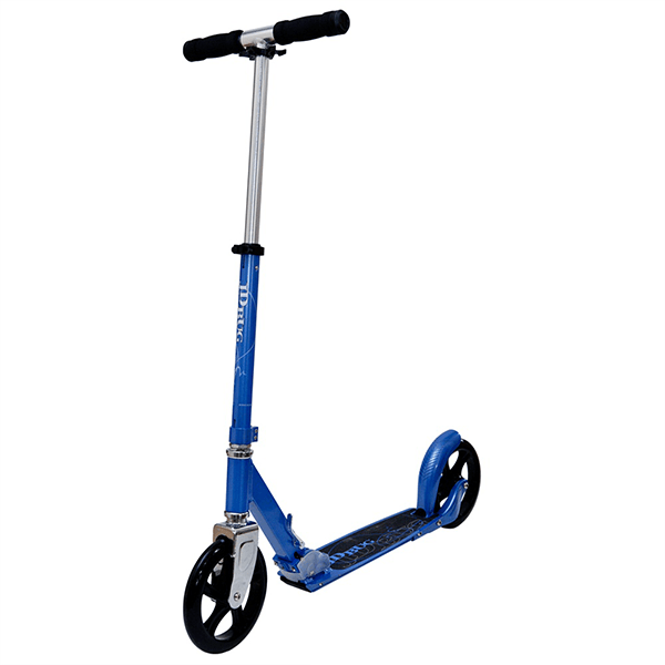 JD Bug Street 200 Reflex Blue Folding Push Scooter - Main View