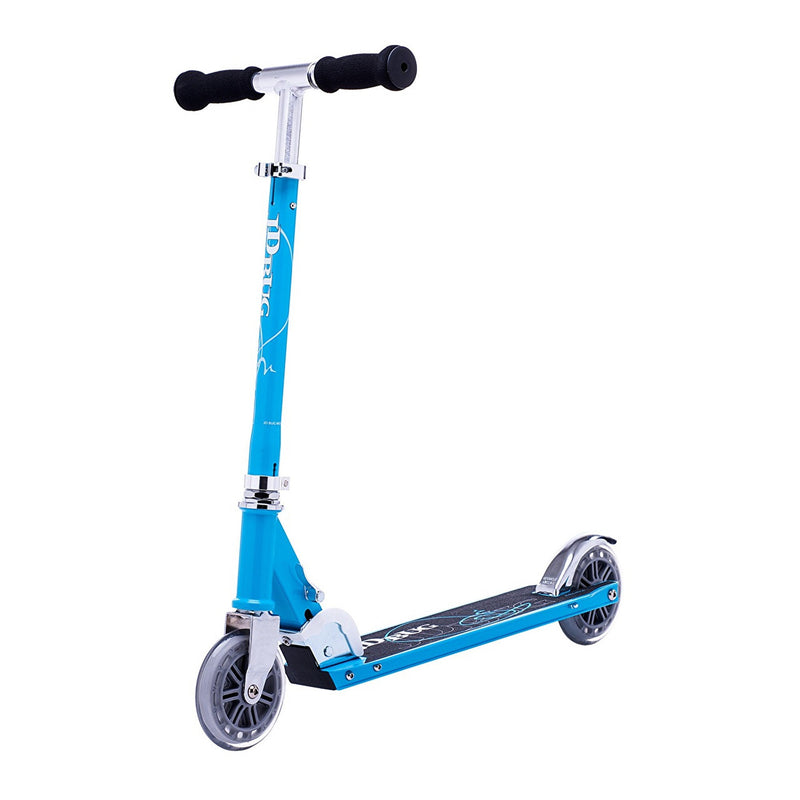 JD Bug Classic Street 120 Sky Blue Folding Scooter - main view
