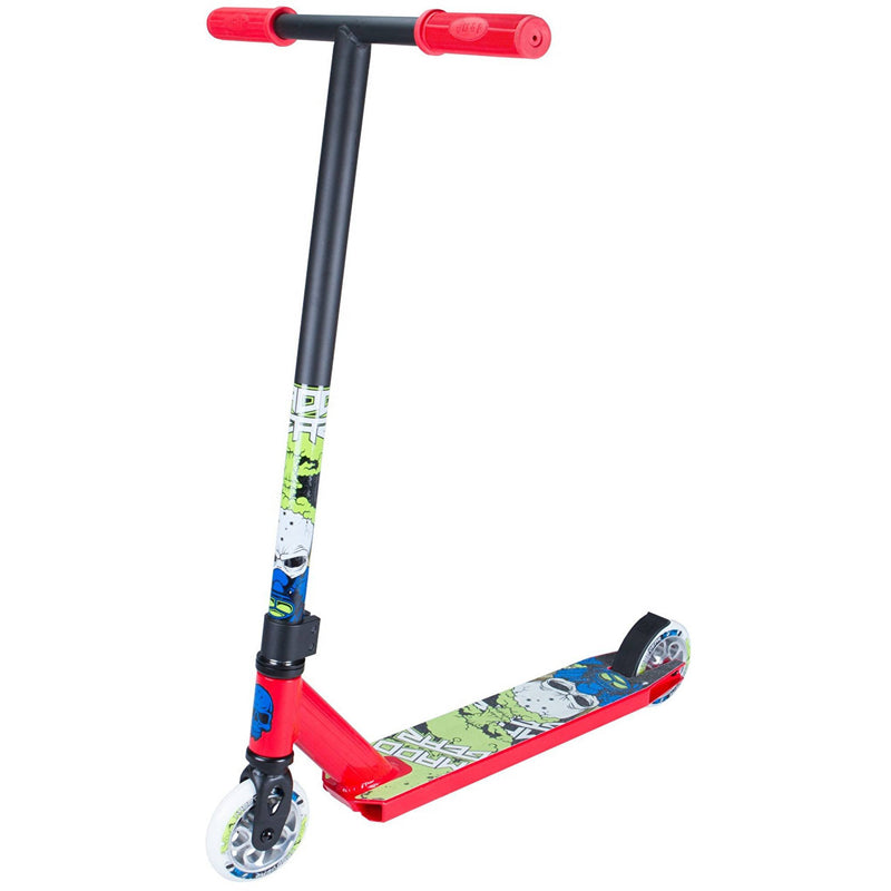 MADD Kick Nuked Pro Scooter - Red/Lime