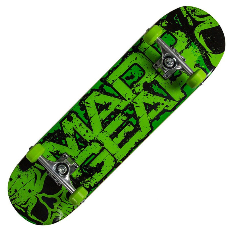 MGP Pro Krunch Green Skateboard - Main View