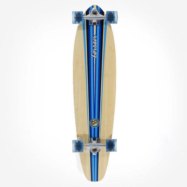 Mindless Corsair III Blue Complete Longboard - Main View