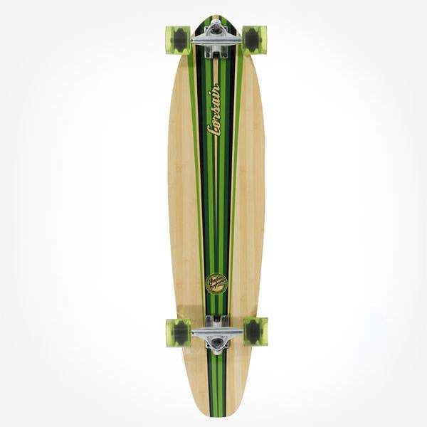 Mindless Corsair III Green Complete Longboard - Main View