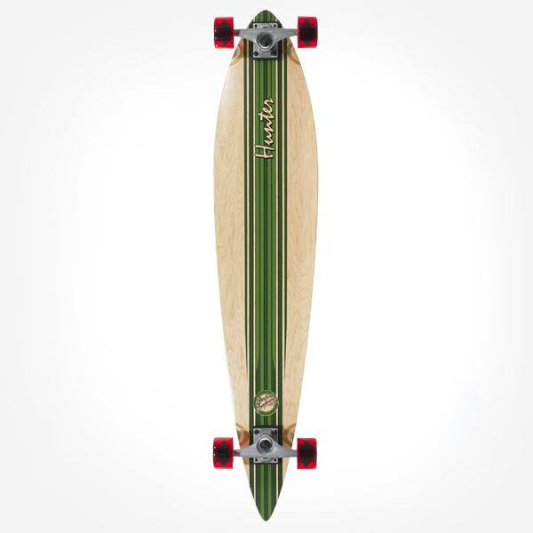 Mindless Hunter III Green Complete Longboard - Main View