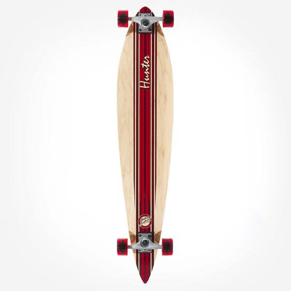Mindless Hunter III Red Complete Longboard - Main View