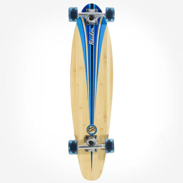 Mindless Raider III Blue Complete Longboard - Main View