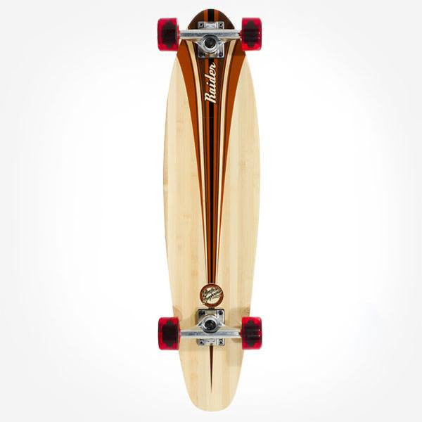 Mindless Raider III Brown Complete Longboard - Main View