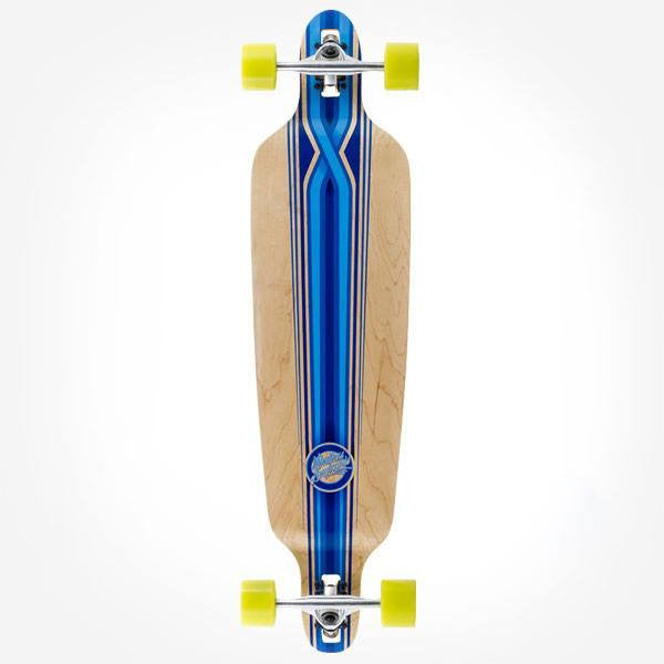 Mindless Savage III Drop Through Blue Complete Longboard - Main View
