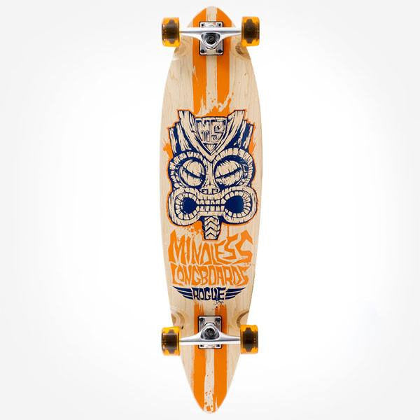 Mindless Tribal Rogue II Natural Orange Complete Longboard - Main View