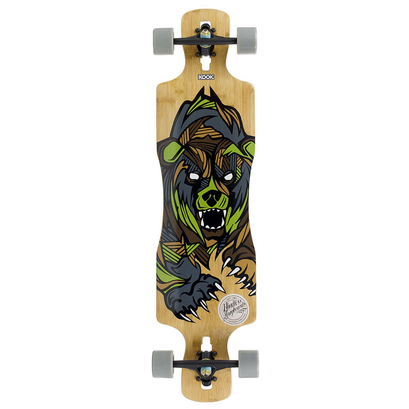 MINDLESS GREY LONGBOARD - MAIN VIEW