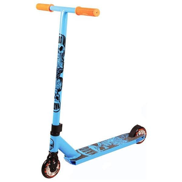 MGP Madd Hatter Kick Extreme II Sky Blue Stunt Scooter - Main View