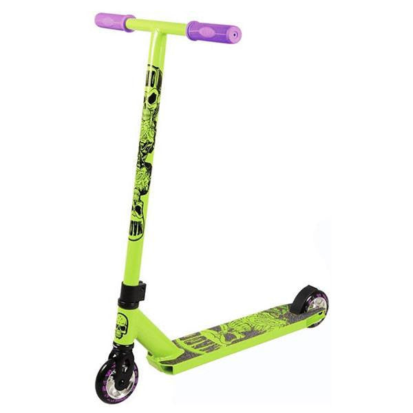 MGP Madd Hatter Kick Extreme II Lime Green Stunt Scooter - Main View