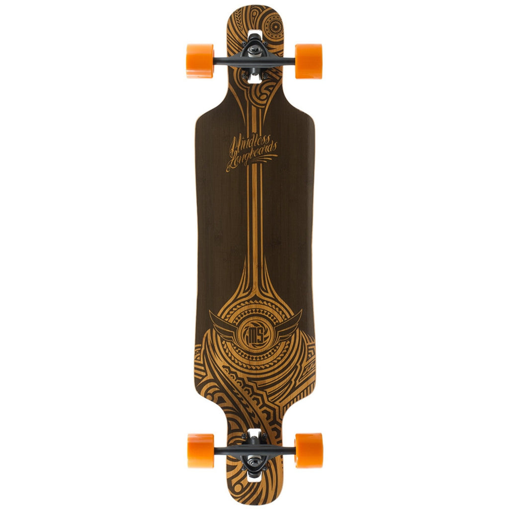 "Mindless Falcon Complete Longboard in Brown 39"" - main view"