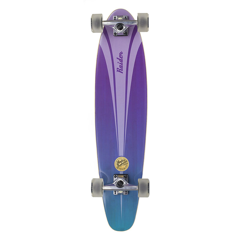 "Mindless Raider IV Complete Longboard in Blue Purple 34"" - main view"