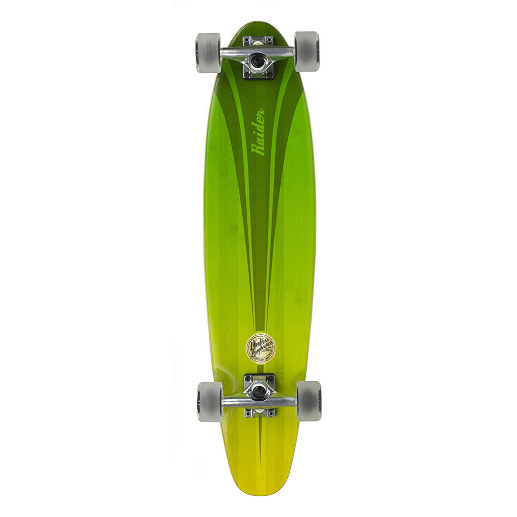 "Mindless Raider IV Complete Longboard in Green 34"" - main view"
