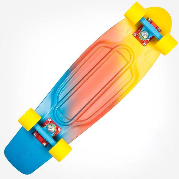 "Penny Nickel 27"" Painted Fade Canary Complete Cruiser Skateboard - Main View"
