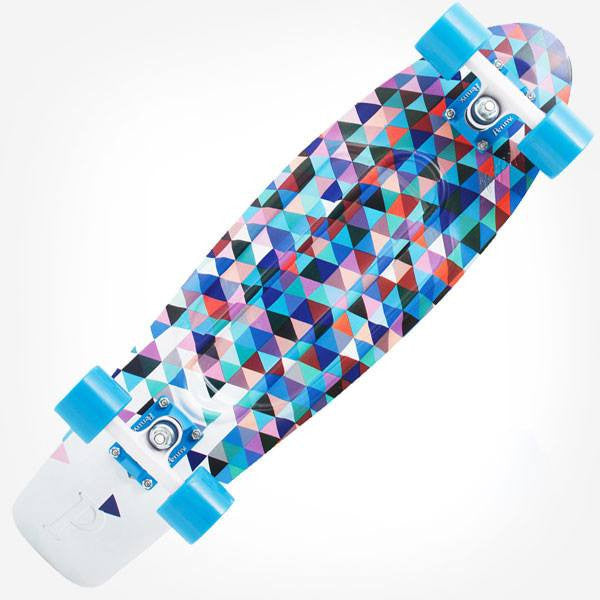 "Penny Nickel 27"" Fresh Prints Carlton Complete Cruiser Skateboard - Main View"