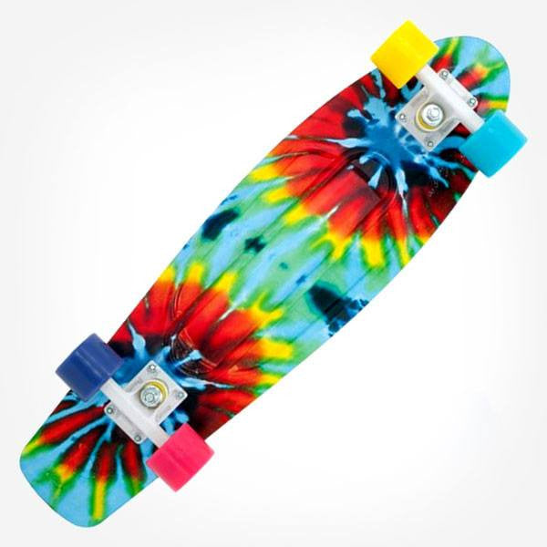 "Penny Nickel 27"" Tie Dye Complete Cruiser Skateboard - Main View"