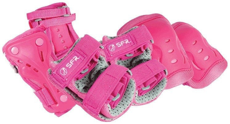 SFR Essentials Pink Junior Triple Pad Set - Main View