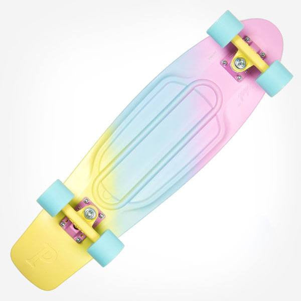 "Penny 22"" Painted Fade Candy Complete Cruiser Skateboard - Main View"