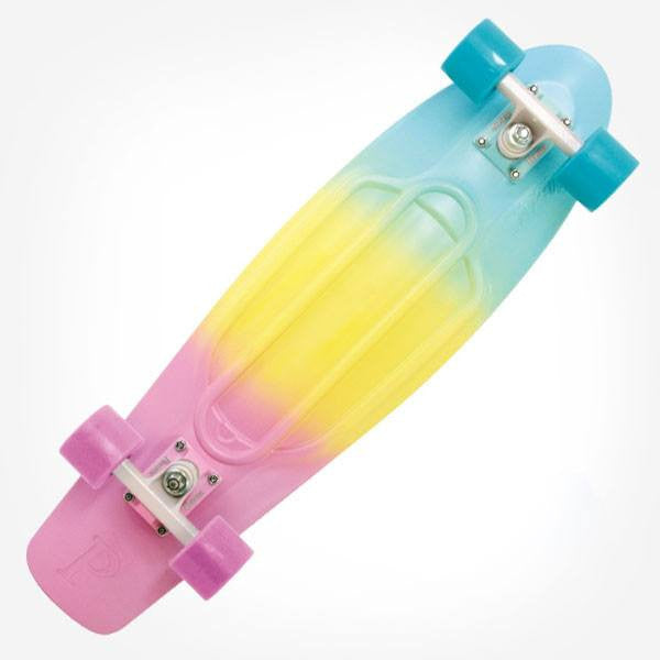 "Penny 22"" Pastel Fade Complete Cruiser Skateboard - Main View"