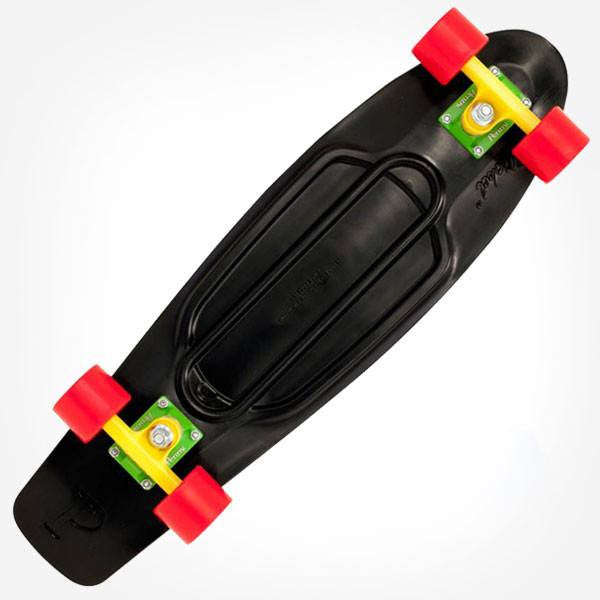 "Penny Nickel 27"" Rasta Complete Cruiser Skateboard - Main View"