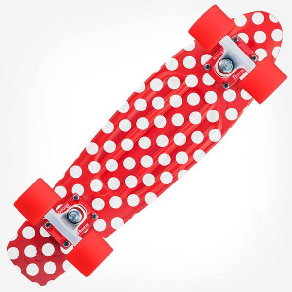 "Penny 22"" Polka Holiday Complete Skateboard - Main View"