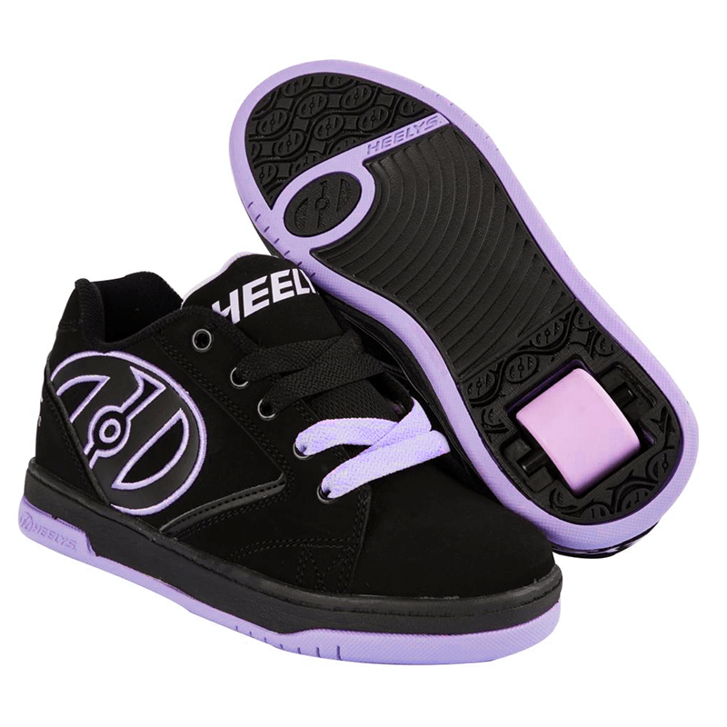 Heelys Propel 2.0 Black Lilac One Wheel Heelys - Main View