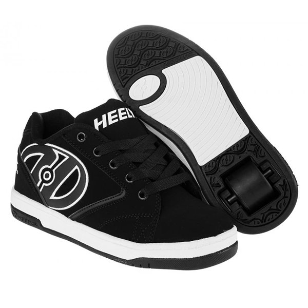 Heelys Propel 2.0 - Black/White One Wheel Heelys - Main View
