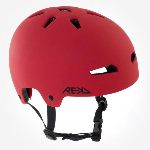 REKD Elite Red Black Skate Bike Protective Helmet - Main View